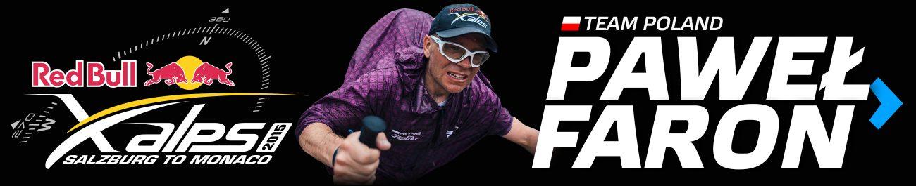 Red Bull X-alps 2015 - Paweł Faron